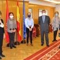 Firma del convenio de colaboración entre el COFM y Manos Unidas Madrid