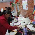 Taller en la Escuela de líderes indígenas Nicolasa Noza de Cuvene' de Beni