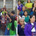 Organizaciones de Mujeres respaldan los procesos de justicia para que no se repita la violencia contra la niñez y las mujeres. Foto ECAP/Socio local de Manos Unidas