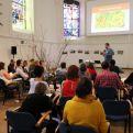 Taller sobre nuevas narrativas en el Foro de Cambio Sistémico-Foto Marta Isabel González/Manos Unidas
