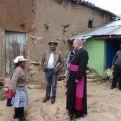 Monseñor Pedro Barreto en Perú. Foto Cáritas Huancayo