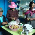 Beneficiarios de proyectos de Manos Unidas. Foto Cáritas Huancayo