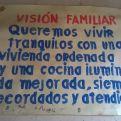 Cartel de uno de los proyectos de Manos Unidas en Perú. Foto Cáritas Huancayo