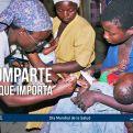 Imagen de Manos Unidas para el Día Mundial de la Salud 2018. Foto Javier Mámol/Manos Unidas