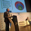 Otra imagen de Victor Viñuales el día del evento. Foto Marta Isabel González/Manos Unidas