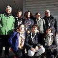 El grupo scout que nos ha ayudado en los puestos de control