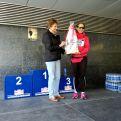 Ganadora del 2º Premio del sorteo, cesta de Acepain (Apoyo a la investigación del cáncer en Albacete)