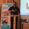 Mn Mario en el taller sobre delegaciones y comarcales