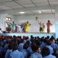 Inauguración de la Escuela de Primaria  St.  Ignatius Loyola en Kathalguri, Assam.