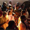 Mujeres de un proyecto de Mahila Mandals
