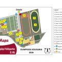 Mapa de Actividades en la Ciudad Deportiva El Val