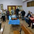 Cena del Hambre en la Parroquia Santa Marta. Manos Unidas Valencia.