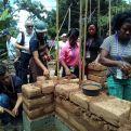 Proyecto de Manos Unidas en El Salvador 2018 .Construcción de Nuevas viviendas