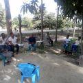 Socialización en La Bueso. Foto: Manos Unidas