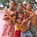 Jóvenes de las favelas