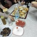 Presentación en la Carolina y cena