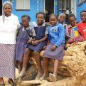 Escolares de Zambia