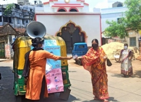 Foto de actividades educativas y sanitarias en Seva Kendra Calcuta