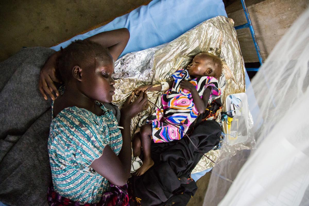 La hambruna en Sudán del Sur (Foto de DFID)