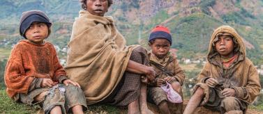 Niños de la región de Sava, en Madagascar