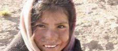 Una niña campesina de Bolivia