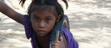 Niña wayuu de Manaure