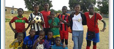 Integración a través del deporte en Angola