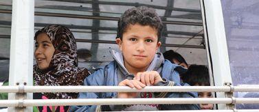 Refugiados y desplazados