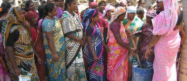 Mujeres indias. Foto: Manos Unidas