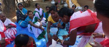 Seguridad alimentaria y empoderamiento de la comunidad campesina tribal. Foto: María García de Vinuesa