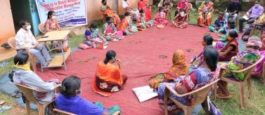 Mujeres en Orissa. India. Foto: Manos Unidas