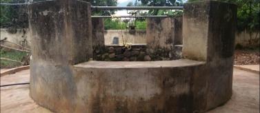 Tanque con capacidad de 50 mil litros para dar agua a un internado femenino. Manos Unidas Valencia
