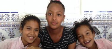 Niñas en escuela Marruecos