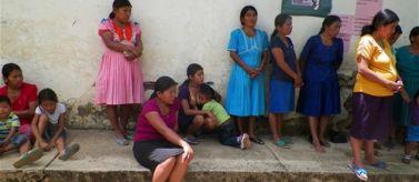 Mujeres comunidades q´eqchís