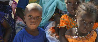 Niños de la región de Gorgol, en Mauritania