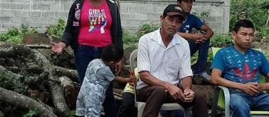 La població rural de 40 comunitats de Nicaragua depèn dels seus cultiu per a la seva alimentació diària