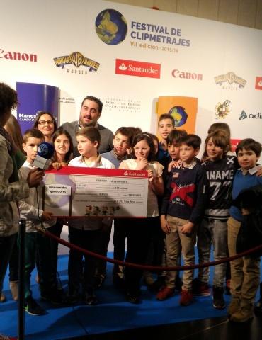 Ganadores Clipmetrajes_Categoría primaria escuelas_Foto:Marta Carreño