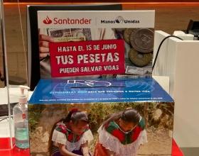 Huchas en las oficinas del Banco Santander