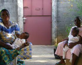 Mujeres en Kasai Occidental. RDC. Foto: Manos Unidas/ María del Carmen Lucas Zuil