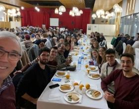 Cena del Hambre en  Manos Unidas Valencia celebrada en la localidad de Alcira.