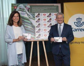 Correos y Manos Unidas presentan el primer sello solidario. Foto: Correos