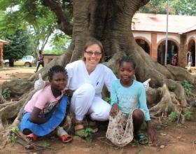 La misionera Pascale Nicolás llegó con 17 años a África, y ha pasado ya por Congo, Camerún, Kenia y Costa de Marfil.