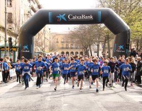 Carrera solidaria en Pamplona