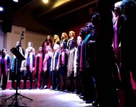 Concierto benéfico de gospel en Llinars del Vallès