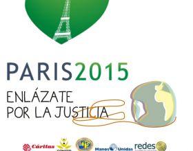 «Enlázate por la justicia» insta al gobierno a asumir los compromisos recogidos en el Acuerdo del Clima de París