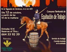 Concurso de equitación de trabajo: III Memorial Miguel Ángel Cárdenas