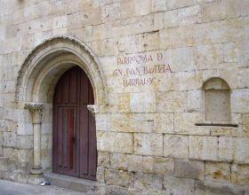 """Sombras y luces"" en la parroquia de San Juan Bautista de Salamanca"