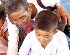 Un proyecto de Manos Unidas en Camboya