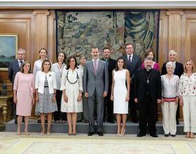 Los Reyes reciben a Manos Unidas en audiencia. Foto: Casa Real