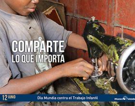 Día contra el Trabajo Infantil - Foto Icíar de la Peña Manos Unidas